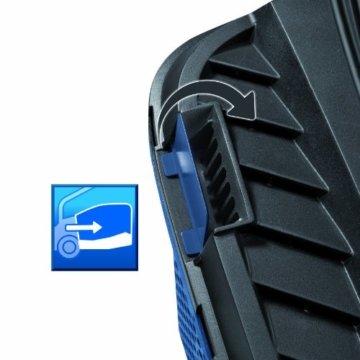 Einhell Elektro Rasenmäher BG-EM 1743 HW (1700 W, 43 cm Schnittbreite, 6-fache Schnitthöhenverstellung 20-70 mm, 52 l Fangbox, Highweeler) -
