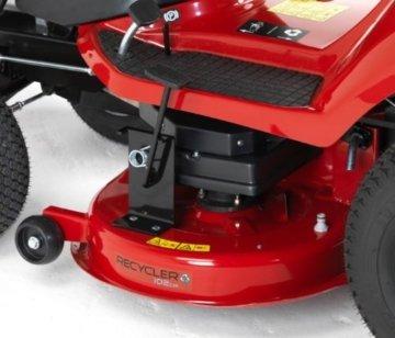 Toro DH210 Gartentraktor/Rasenmäher mit Sammelbehälter auf der Rückseite für Recycling bei Bedarf, kostenloses Multitool Easy Grip -
