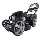 Benzin Rasenmäher BRAST 4 in 1 20196 SPEED 4,4kW (6PS) regelbare Antriebsgeschwindigkeit GT Markengetriebe kugelgelagerte Big-Wheeler-Räder Stahlblechgehäuse Easy Clean -