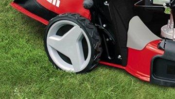 Einhell Benzin Rasenmäher GC-PM 52 S HW (2,8 kW, 173 cm³, Schnittbreite: 52 cm, zentrale Schnitthöhenverstellung: 6 Stufen | 25-70 mm) -