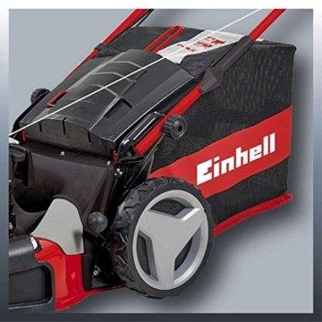 Einhell Benzin Rasenmäher GE-PM 53 S HW B&S (2,3 kW, 150 cm³, Schnittbreite 53 cm, Schnitthöhenverstellung 6-fach 25-70 mm, 80 L, Highwheeler) -