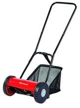 Einhell Hand Rasenmäher GC-HM 30 (30 cm Schnittbreite, max. 42 mm Schnitthöhe, 16 l Fangkorb, empfohlen bis 150 m²) -