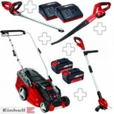 Einhell Power X-Change Garten Set XXL -