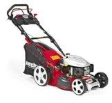 HECHT Benzin-Rasenmäher 5484 SXE Benzin-Mäher mit Elektro-Start Funktion (5 PS Motorleistung, 46 cm Schnittbreite, 7-fache Schnitthöhenverstellung 25-75 mm, 60 L Fangsack) -