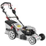 HECHT Benzin-Rasenmäher 553 AL Briggs & Stratton Benzin-Mäher (6 PS Motorleistung, 51 cm Schnittbreite, 5-fache Schnitthöhenverstellung 25-75 mm, 60 L Fangsack) -