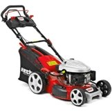 HECHT Benzin-Rasenmäher 5534 SWE Benzin-Mäher mit Elektro-Start Funktion (6 PS Motorleistung, 51 cm Schnittbreite, 7-fache Schnitthöhenverstellung 25-75 mm, 60 L Fangsack) -