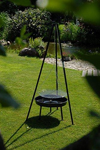 landmann schwenkgrill 0543 dreibein grill rasenm her. Black Bedroom Furniture Sets. Home Design Ideas