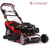 Rotfuchs Benzin Rasenmäher Selbstantrieb 5in1-Funktion GT-Markengetriebe 196ccm max. 4,4kW(6PS) 62L Grasfangkorb 53cm Schnittbreite Reinigungsfunktion - 1