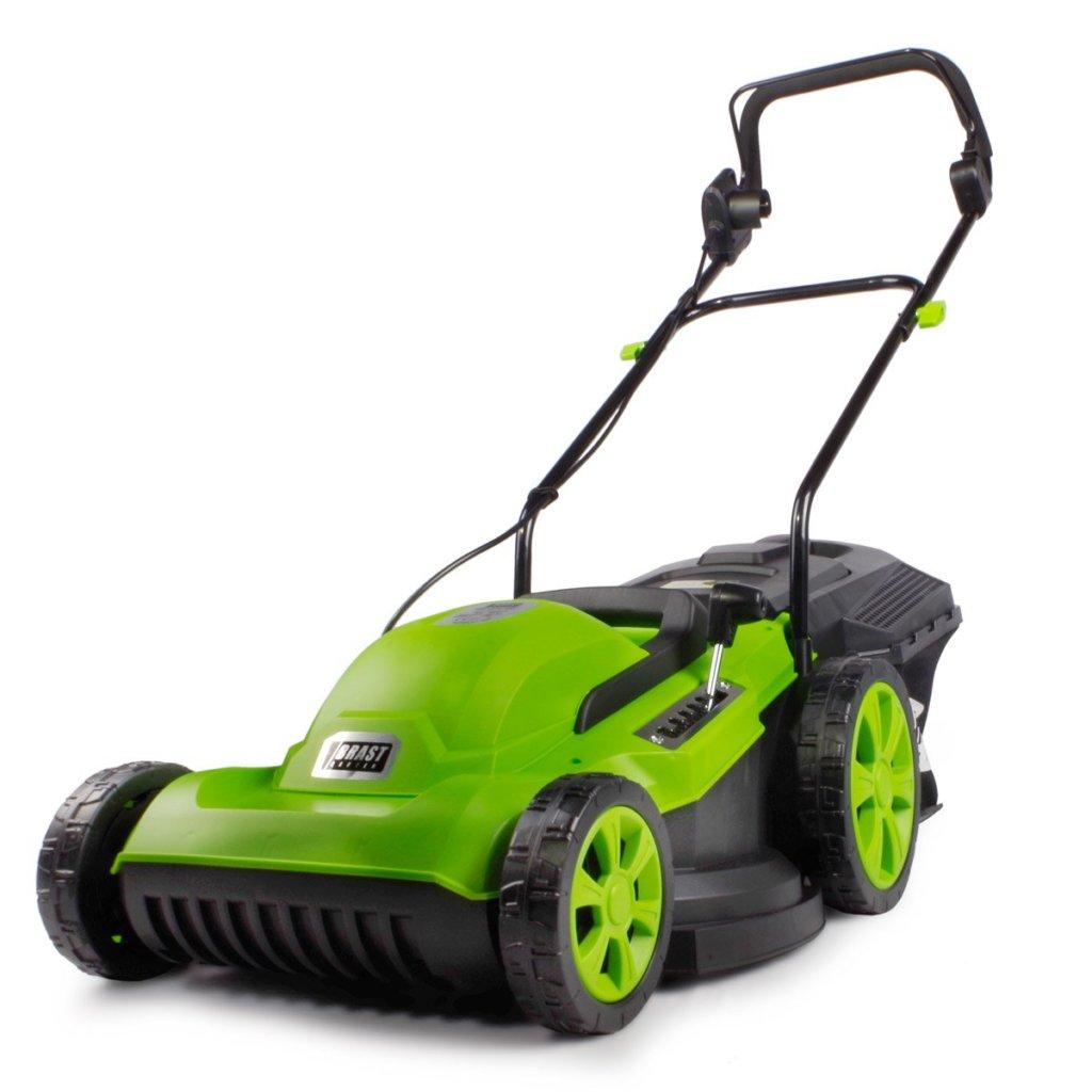 Elektro Rasenmäher für nasses Gras
