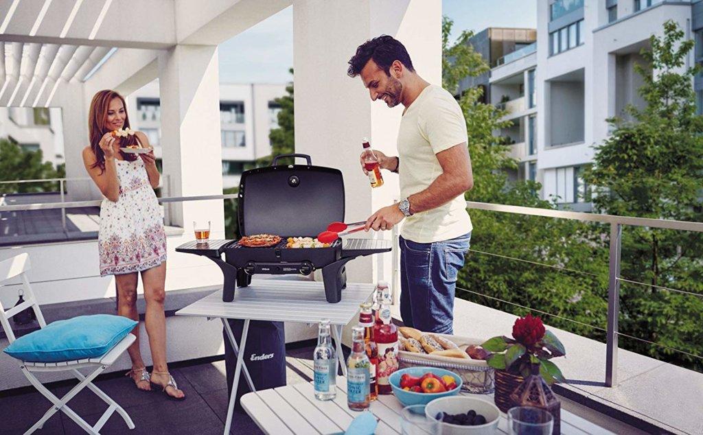 Topf Für Gasgrill : Enders edelstahl grill pfanne für gasgrill kansas mit kocher