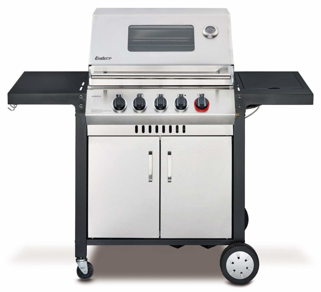 Gasgrill Sizzle Zone Test