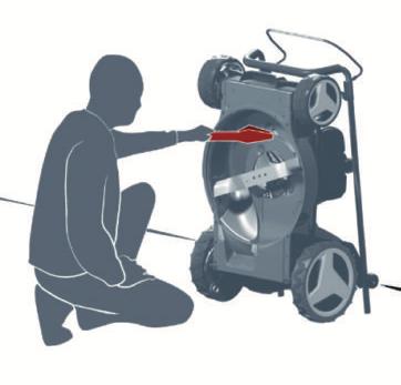 Einhell Rasenmäher reinigen
