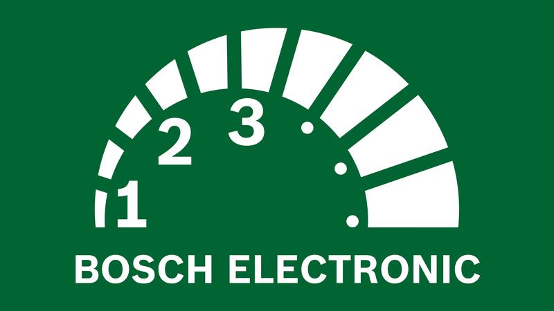 Bosch Drehzahlvorwahl