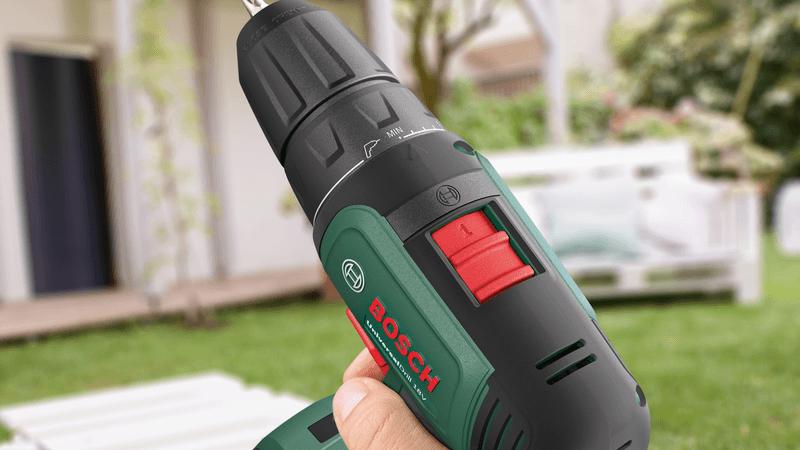 Bosch Akkuschrauber 12V grün