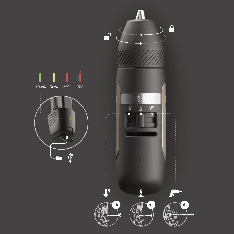 Mini Akkuschrauber von Bosch