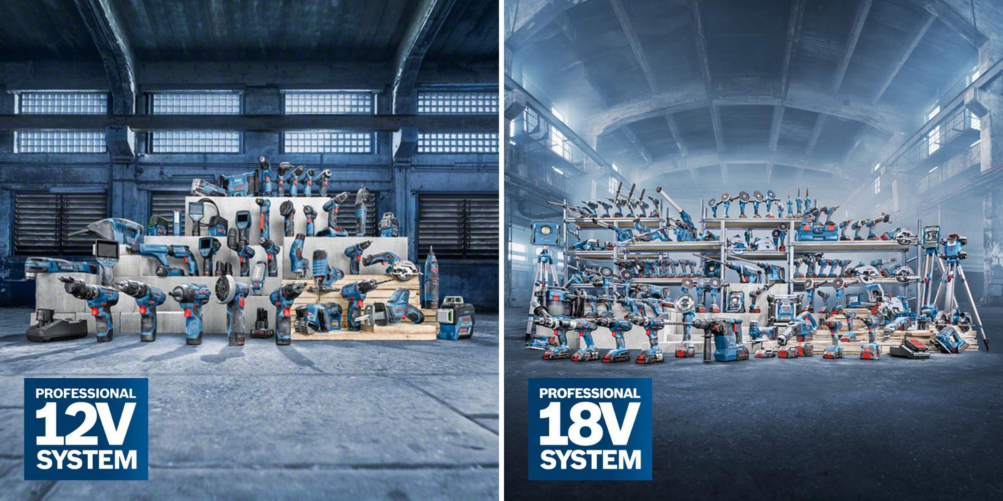 12V und 18V Bosch Pro